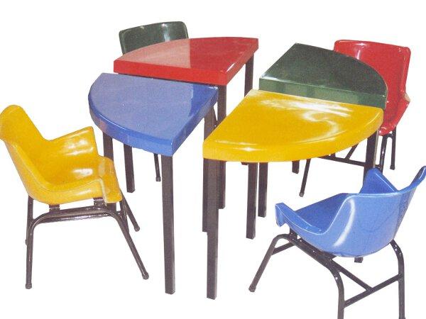 Fibras Castañeda - Muebles para parvularia/guardería (Desmontable 2)